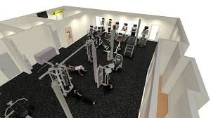1400 Sq Ft Fitness Center Design Sport And Fitness