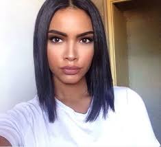 black hair weave part in the middle best 25 middle part bob ideas on pinterest bob with middle part