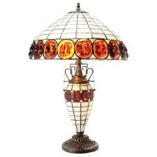 incredible decoration stained glass table lamps pretty looking