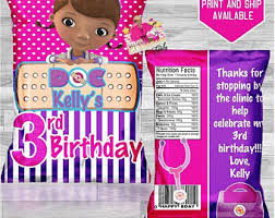 doc mcstuffins party ideas doc mcstuffins party etsy