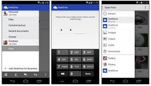 onedrive app for android microsoft debuts dual use onedrive app for android geekwire