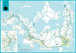 A Train Map Discover Japan U201d Map Of Japanese Rail Routes May Transit Maps