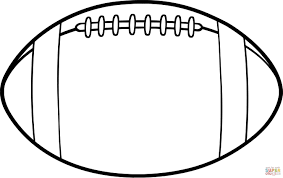 coloring pages of football to print 5843