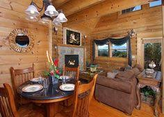 One Bedroom Cabins In Pigeon Forge Tn A Moonlight Ridge Is A Two Story One Bedroom One Bath Cabin And