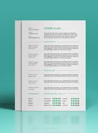 free resume template for graphic designers illustrator 20 best