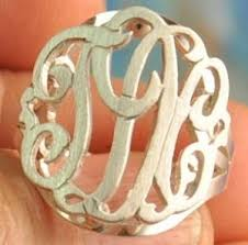monogrammed ring monogrammed ring 3 but not like the typical ones this ones cuter