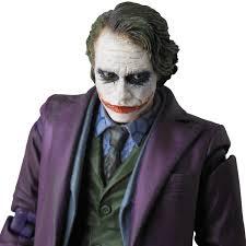 medicom the dark knight the joker bank robber ver mafex action