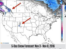Map Of The Us And Canada by Heaviest Snow Continues To Fall In The Pac Us And Canada