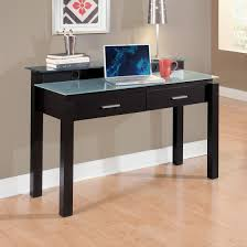 Glass And Wood Computer Desk Choosing Glass Top Office Desk All Office Desk Design