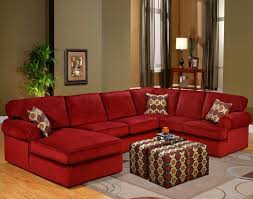 red leather sectional sofa with chaise u2014 prefab homes curved