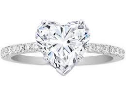 diamond heart ring best 25 heart shaped diamond ideas on heart shaped