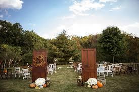 Backyard Wedding Ideas For Fall Stephania And Brian U0027s Backyard Wedding With A Touch Of Autumn