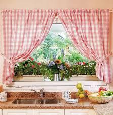 Kitchen Curtain Patterns Kitchen Curtains Design Photos Types And Diy Advice
