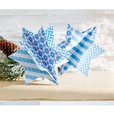 diy star of david paper crafted chanukah ornament holiday decor