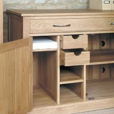 mobel oak hidden home office workstation wooden furniture store