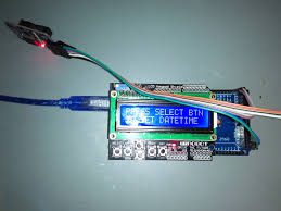 lcd with ds3231 real time clock module arduino project hub