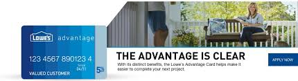 Where Can I Use Home Design Credit Card Lowe U0027s Advantage Card
