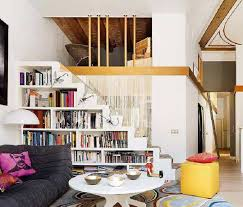 storage ideas for small spaces under stairs bookcase good