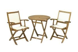 Tesco Bistro Chairs Buy York Garden Bistro Set 70cm Round Table With 2 Henley