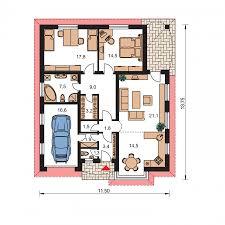 projekty domov bungalow 49 prodom spol s r o