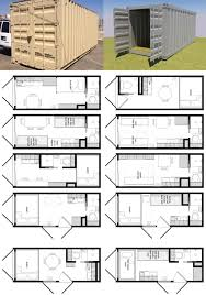 20 Foot Travel Trailer Floor Plans 20 Foot Shipping Container Floor Plan Brainstorm Tiny House