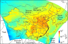 Population Map Of China by Inhalation Exposure To Ambient Polycyclic Aromatic Hydrocarbons