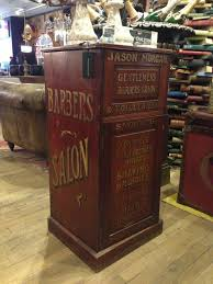 cabinet shop for sale vintage english sign painted barber s cabinet for sale at abc home