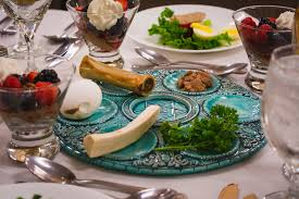 traditional seder plate temple emanu el welcomes everyone for passover seder a