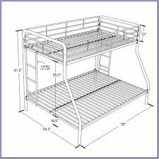Bunk Bed Measurements Height Home Design Ideas - Height of bunk beds