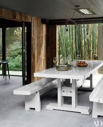 Tables With Bench Seating How To Use Bench Seating In Your Dining Area Photos