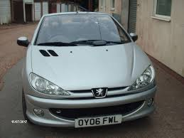 peugeot 206 cabriolet peugeot 206 convertible 2006 in southampton hampshire gumtree