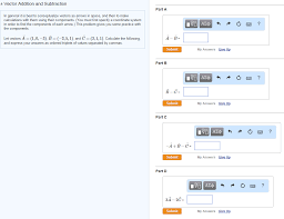 Conceptualize Vector Addition And Subtraction In General It I Chegg Com
