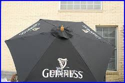 Beer Logo Patio Umbrellas Patio Umbrellas And Stands Archive Guinness Beer 7 U2032 Umbrella