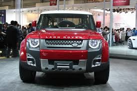 new land rover defender concept land rover defender sondauto