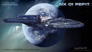 nx 01 s s enterprise refit star trek ships pinterest star