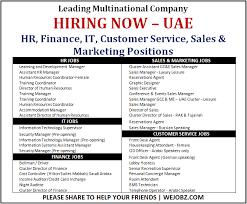 front desk jobs hiring now leading companies hiring now dubai new jobs in dubai facebook