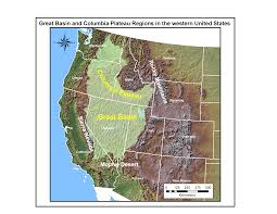 Map Of National Parks In Usa Gold Springs Trimetals Mining Inc Lake Bonneville Wikipedia List