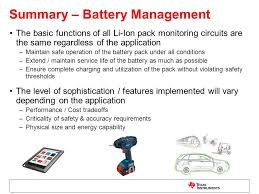 introduction to battery management part 1 battery technology
