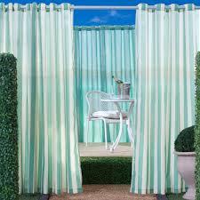 outdoor decor escape velcro tab top outdoor curtain panel hayneedle