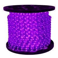 purple led rope light 120v rope light spools 1000bulbs