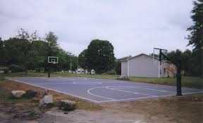 triyae com u003d asphalt basketball court in backyard various design