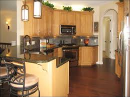 Floor Kitchen Cabinets by Kitchens With Oak Cabinets And Wood Floors Before Throughout