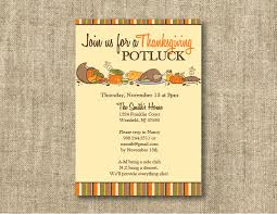 thanksgiving invitations wording with bring a dish sle
