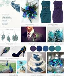 peacock wedding sophisticated peacock wedding inspiration the mix of color