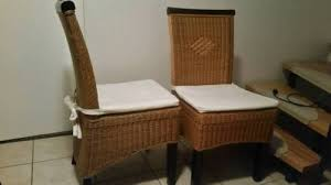 korbstühle esszimmer 2 korbstühle rattanstühle esszimmer in niedersachsen buchholz in