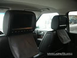 Ford Flex Interior Photos Autotain Customer Headrest Installation Photos In A 2009 Ford Flex