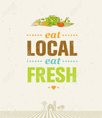 from farm to table local food market from farm to table creative organic vector
