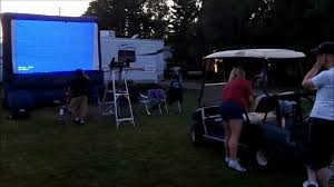 giant inflatable screens for an outdoor movie outdoor movie hq