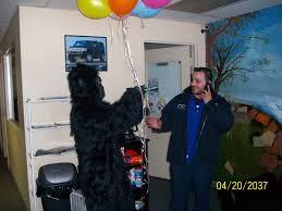 singing telegram baltimore gorilla gram singing telegram detroit michigan