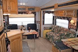 Camper Trailer Interior Ideas Simple Rv Interior Remodel 2903